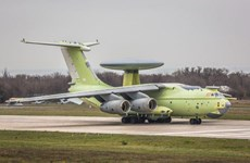 Nga đang thử nghiệm máy bay cảnh báo sớm thế hệ mới A-100 Premier