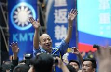 Quốc Dân Đảng đề cử ứng viên tranh cử lãnh đạo Đài Loan năm 2020