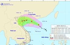 Bão số 3 sẽ đổ bộ trực tiếp vào các tỉnh từ Quảng Ninh đến Nam Định