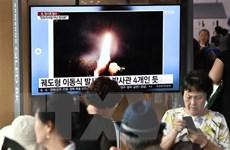 'Nước cờ' của Triều Tiên khi liên tục phóng tên lửa tầm ngắn