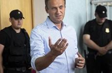 """Thủ lĩnh đối lập Nga Navalny bị điều tra tội """"lập quỹ để rửa tiền"""""""
