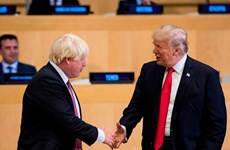 Tổng thống Donald Trump mong chờ gặp tân Thủ tướng Anh Boris Johnson