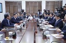 Tổng thống Hàn Quốc: Nền kinh tế hòa bình liên Triều sẽ vượt Nhật Bản