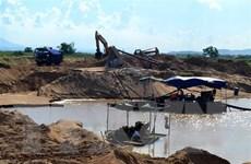 Hà Nội: Sẽ đấu giá quyền khai thác khoáng sản đối với 5 điểm mỏ cát