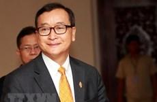 Campuchia: Thủ lĩnh đối lập Sam Rainsy tuyên bố rõ thời điểm về nước