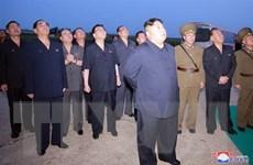 KCNA: Nhà lãnh đạo Triều Tiên Kim Jong-un giám sát vụ thử vũ khí mới