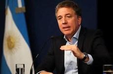 Thị trường tài chính lao dốc, Bộ trưởng Kinh tế Argentina từ chức