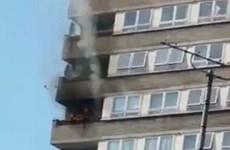 Cháy lớn tại một tòa nhà ở Anh, chưa có báo cáo thương vong
