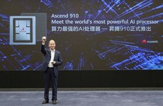 Huawei ra mắt bộ xử lý trí tuệ nhân tạo 'mạnh nhất' Ascend 910
