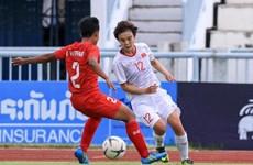 Philippines gặp tuyển Việt Nam ở Bán kết bóng đá nữ Đông Nam Á 2019