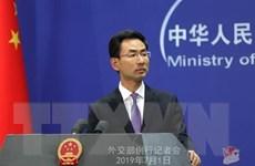 Trung Quốc kêu gọi Mỹ lập tức chấm dứt các hành động sai lầm