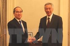 Singapore mong muốn thúc đẩy hợp tác toàn diện với TP Hồ Chí Minh