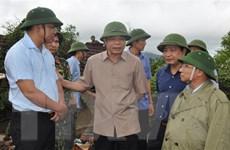 Bộ trưởng Nguyễn Xuân Cường kiểm tra công tác ứng phó sau bão số 4