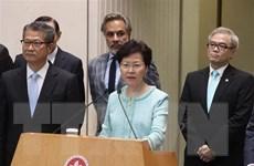 Chính quyền Hong Kong triển khai 4 hành động giải quyết khủng hoảng