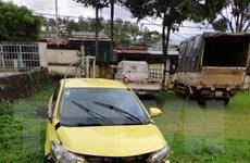 Hai đối tượng 9X ở Gia Lai dùng súng AK để cướp xe taxi