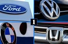 Mỹ điều tra 4 hãng xe có thỏa thuận về khí thải với California
