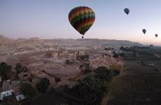 Ai Cập quyết định nối lại du lịch bằng khinh khí cầu ở tỉnh Luxor