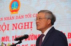 Tổng kết thí điểm về đổi mới, tăng cường hòa giải ở 16 tỉnh, thành phố