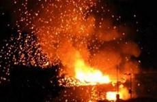 Nổ kho vũ khí của Thổ Nhĩ Kỳ tại đảo Cyprus, một khách sạn bị hư hại