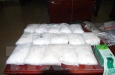 Phát hiện, thu giữ hơn 15kg bột trắng nghi ma túy đá tại cửa khẩu