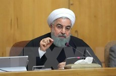 Tổng thống Iran công bố sáng kiến bảo vệ Eo biển Hormuz