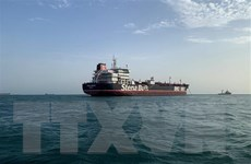 Thụy Điển chưa xác nhận việc Iran thả tàu chở dầu Stena Impero