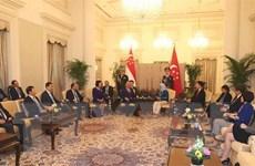 Hợp tác thương mại, đầu tư là điểm sáng của quan hệ Việt Nam-Singapore