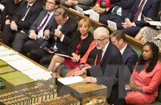 Lãnh đạo đảng đối lập ở Anh kêu gọi Thủ tướng Boris Johnson từ chức
