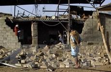 Liên quân Arab không kích trúng nhà dân, nhiều trẻ em thiệt mạng