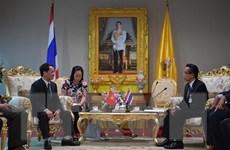 Đoàn đại biểu Mặt trận Tổ quốc Việt Nam thăm và làm việc tại Thái Lan