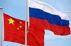 Nga và Trung Quốc tăng cường thúc đẩy hợp tác song phương