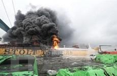 Đã có 18 người bị thương trong vụ nổ tàu chở dầu tại Hàn Quốc