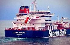 Tàu chở dầu Stena Impero đã neo đậu ở một cảng của UAE