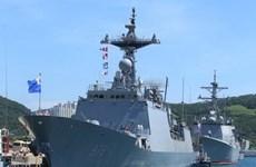 Hàn, Nhật tham gia diễn tập hàng hải đa quốc gia bất chấp căng thẳng