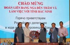 Bắc Ninh đẩy mạnh hợp tác kinh tế với doanh nghiệp Nga