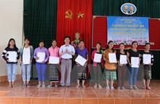 Nhập quốc tịch Việt Nam cho 350 cư dân biên giới Việt-Lào