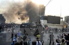Nổ súng ở trung tâm Baghdad, các cuộc biểu tình mới lại diễn ra