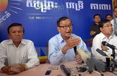 Thủ lĩnh đối lập Campuchia Sam Rainsy lĩnh 20 tháng tù vì tội lăng mạ