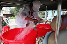 [Video] Hà Nội hoàn thành thau rửa bể nước chung cư trong ngày 20/10