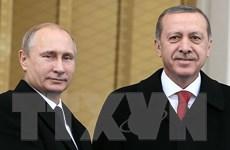 Hội đàm Putin-Erdogan diễn ra với trọng tâm là tình hình ở Syria