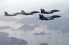 Hàn Quốc-Nga họp kín về thiết lập đường dây nóng không quân