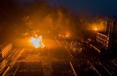 Cháy nhà máy luyện thép ở Trung Quốc, nhiều người thương vong