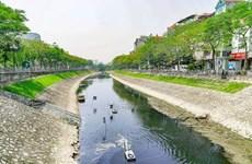 [Video] Công bố kết quả thí điểm làm sạch trên sông Tô Lịch và Hồ Tây