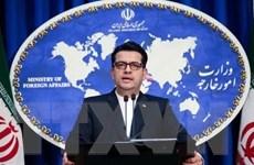 Bộ Ngoại giao Iran lên tiếng phản đối các lệnh trừng phạt mới của Mỹ