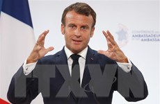 Tổng thống Pháp Emmanuel Macron bắt đầu chuyến thăm Trung Quốc