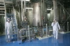 'Quyết định của Iran nối lại hoạt động làm giàu urani là nguy hiểm'