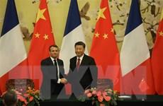 Lãnh đạo Trung Quốc và Pháp ủng hộ Hiệp định Paris về biến đổi khí hậu