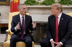 Tổng thống Mỹ Donald Trump sắp hội đàm với Tổng thư ký NATO