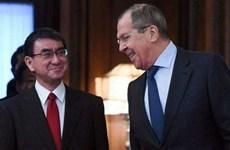 Ngoại trưởng Nga tới Nhật Bản để thúc đẩy đàm phán hiệp ước hòa bình