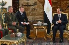 Ai Cập, Nga nhấn mạnh giải pháp chính trị cho khủng hoảng khu vực
